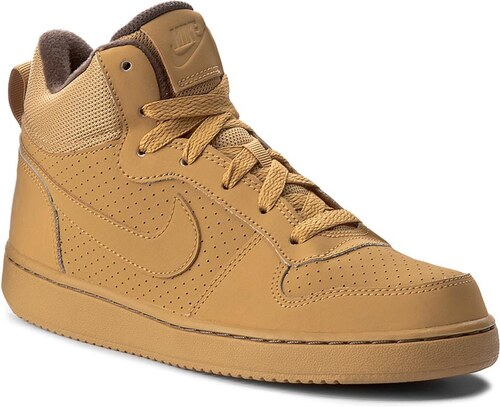 NIKE Court Borough Mid (GS) 839977 700 - Glami.cz bd4c9d554a