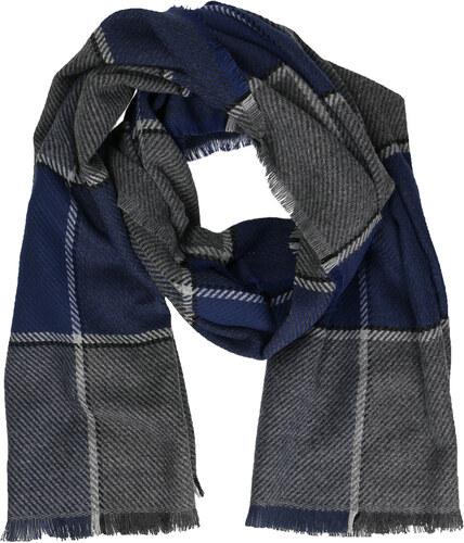 Baťa Pánsky modrý šál - Glami.sk 64238d965c1