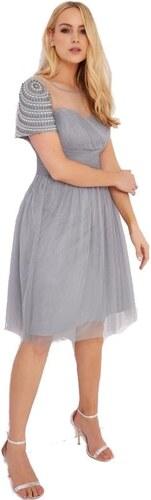 LITTLE MISTRESS Šifónové šaty s ozdobnými rukávy - Glami.cz 33980db135
