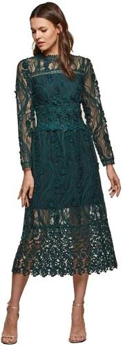 MISS SELFRIDGE Zelené krajkové šaty - Glami.sk 48d4689126e