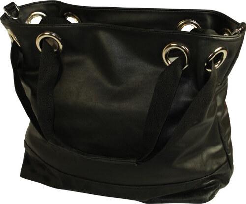 G T Collection Pete velká dámská kabelka černá - Glami.cz ab47373fb92