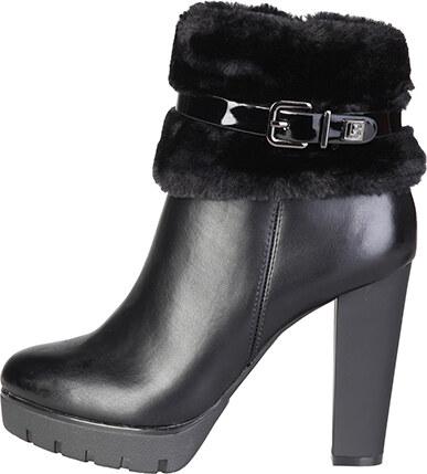4445e299e9 Laura Biagiotti Dámska členková obuv 2111 BLACK - Glami.sk