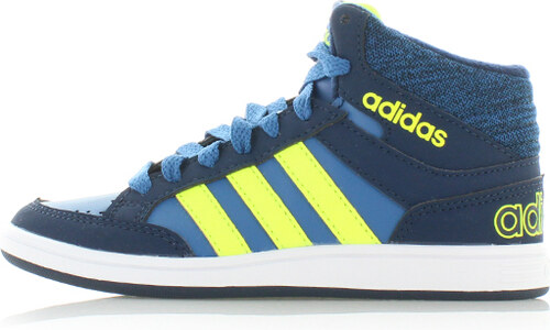 03e44bed413 adidas NEO Detské modré členkové tenisky ADIDAS Hoops Mid - Glami.sk