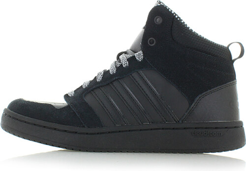adidas CORE Dámské černé kotníkové tenisky ADIDAS Cloudfoam Superhoops Mid 5ff5097f11c