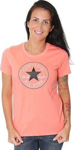 tričko Converse Core Solid Chuck Patch 10001124 - A14 Sunblush ... a6320a85b8