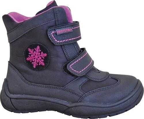 04f0406459 Protetika Dievčenské zimné topánky Gorka - čierno-šedé - Glami.sk