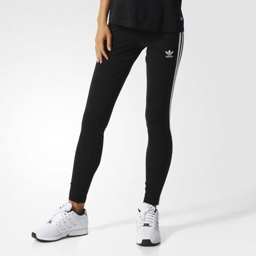 Adidas Originals Legíny 3-STRIPES černá - Glami.cz c5cbb1e42d