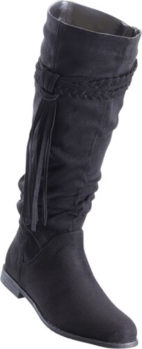 BODYFLIRT Bonprix - Bottes noir pour femme - Glami.fr 31e56722f510