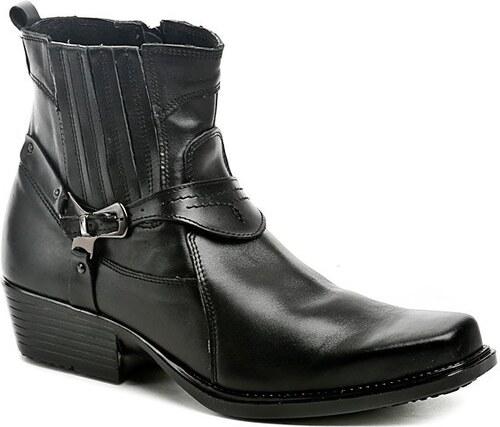 Koma 1025 černé pánské westernové boty - Glami.cz dbc0faf289
