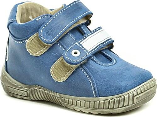 Pegres 1404 modré dětské botičky - Glami.cz 5be8e6ea28