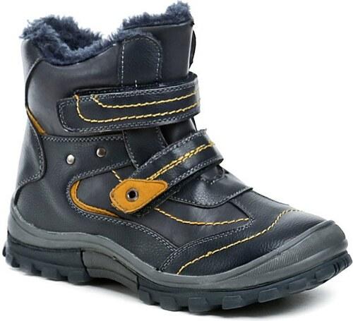 49330b5f50f9 Magnus 46-0533-D1 navy dětské zimní boty - Glami.cz