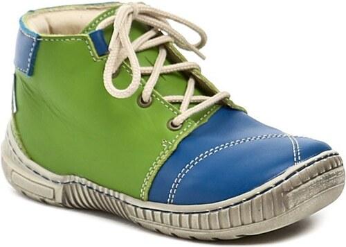 Pegres 1406B modro zelené dětské botičky - Glami.cz 7a1a90fb2a