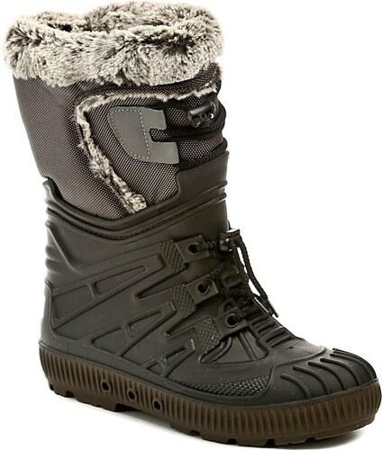 Italy Top Lux 8402 černé dámské sněhule - Glami.cz 0770b9a526