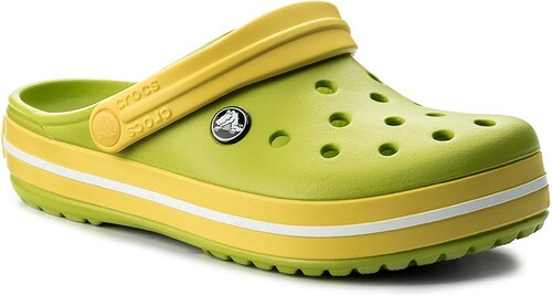 Papucs CROCS - Crocband 11016 Volt Green Lemon - Glami.hu 04e9bffc2f