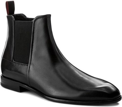 Kotníková obuv s elastickým prvkem BOSS - Dressapp 50369922 1019904601  Black 001 2079e729fa