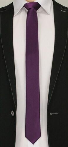 Fialová vzorovaná pánska kravata - Glami.sk 0a2df0d9bf