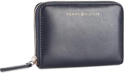 145fe8e64e Veľká Peňaženka Dámska TOMMY HILFIGER - Smooth Leather Sm Za Wallet  AW0AW04355 413