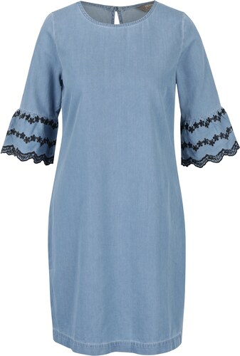Svetlomodré rifľové šaty s madeirou Dorothy Perkins - Glami.sk fa6fd7d4e0d
