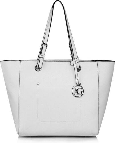 Anna Grace Kabelka shopper AG Simplycity White - Glami.cz a0b923bef79