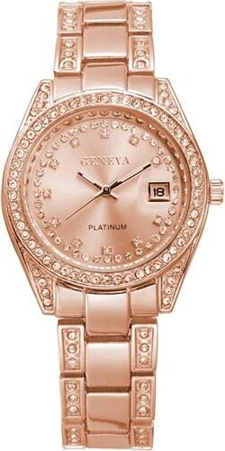 Dámské hodinky Geneva Crystal G035 - ROSE - Glami.cz 29a1fa20481