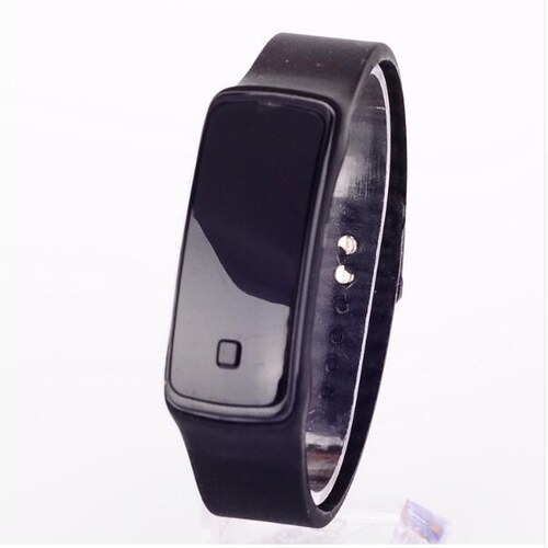 Digitální LED hodinky sport 2020-1 černé - Glami.cz 756f6f774f