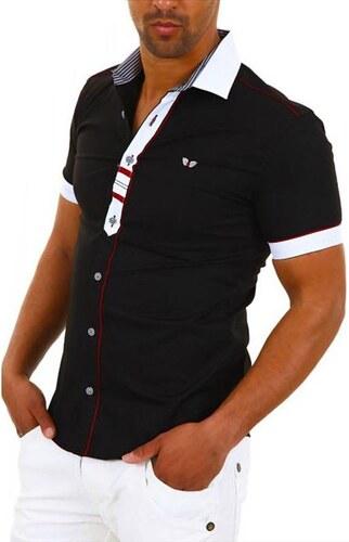 CARISMA košile pánská 9008 krátký rukáv slim fit - Glami.cz 14abea914c