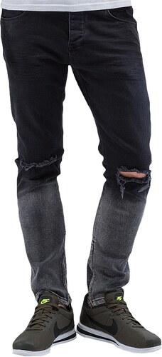 2Y PREMIUM 2Y kalhoty pánské Two Tone Jeans Black - Glami.cz bea1a2248c