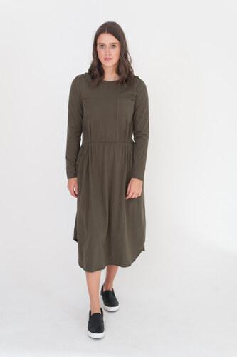 Beaumont Šaty Jenna khaki L - Glami.cz c77c22b776
