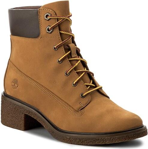 735bbd27c8 Magasított cipő TIMBERLAND - Brinda 6 In Lace Up A1KLL Wheat - Glami.hu