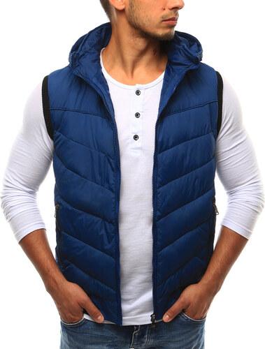 Pánska svetlo modrá vesta s kapucňou (tx1696) - Glami.sk a59445f139a