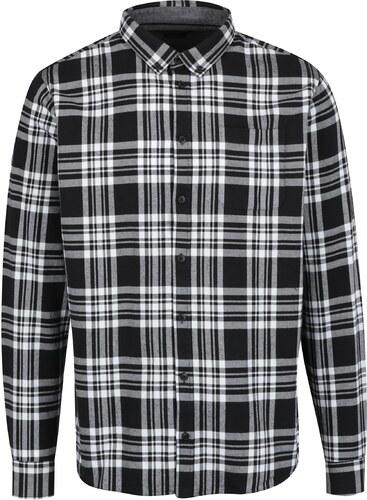22c914e1d796 Bielo-čierna károvaná pánska regular fit košeľa Casual Friday by Blend