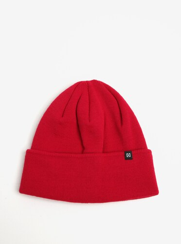 Červená dámská zimní čepice Horsefeathers Greis - Glami.cz e0838a52a3