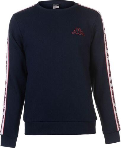 e311d6be41205 pánska mikina Kappa Fleece LL Crew Sweatshirt Mens - Glami.sk