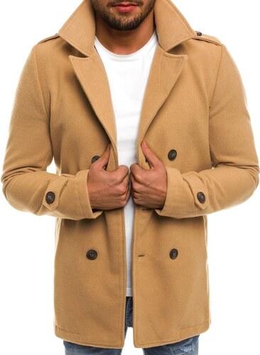 c6d02807a4 Elegáns bézs színű kabát KK502 - Glami.hu