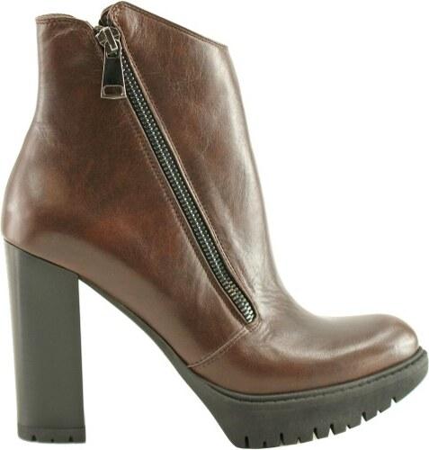 Bosccolo Dámska členková obuv 4310 brown - Glami.sk 11f9413aceb