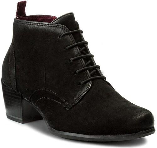 Magasított cipő TAMARIS - 1-25115-29 Black Nubuc 995 - Glami.hu a681347065