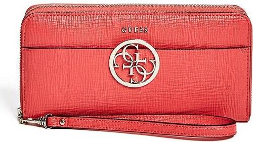 a0f687aa58 GUESS peňaženka Kamryn Zip-Around Wallet červená