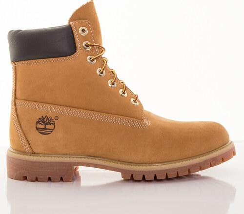 Pánske žlté vodeodolné kožené zimné topánky Timberland 6-INCH - Glami.sk 2853460a251