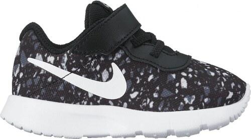 Dětské tenisky Nike TANJUN PRINT (TDV) BLACK WHITE-WOLF GREY-WHITE ... de8bff6d6a