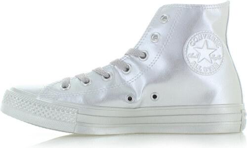 Converse Ezüst női magas tornacipő Chuck Taylor All Star Liquid Metallic 9b7433ddb0