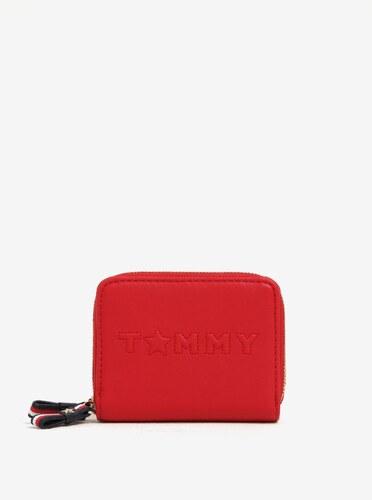 57780033dd Červená dámska peňaženka Tommy Hilfiger - Glami.sk