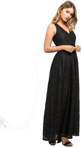 NEW LOOK Dlhé čierne čipkované šaty bez rukávov - Glami.sk f7b6e0bb79c
