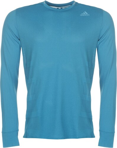 97d0bad6d6 adidas Supernova Long Sleeve T Shirt Mens Petrol - Glami.cz