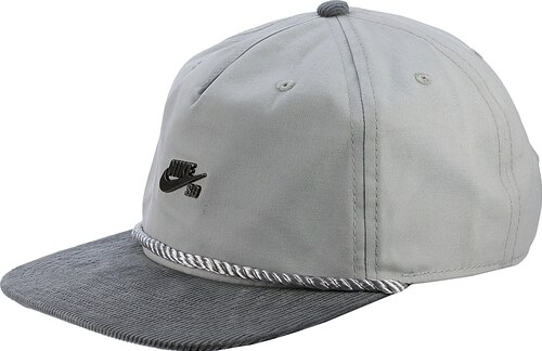 kšiltovka Nike SB Waxed Canvas Pro - 012 Wolf Gray Cool Gray Cool ... 6a04d84ebf