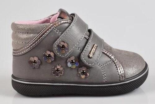 Primigi Dievčenské celoročné členkové topánky - šedé - Glami.sk 695534553f