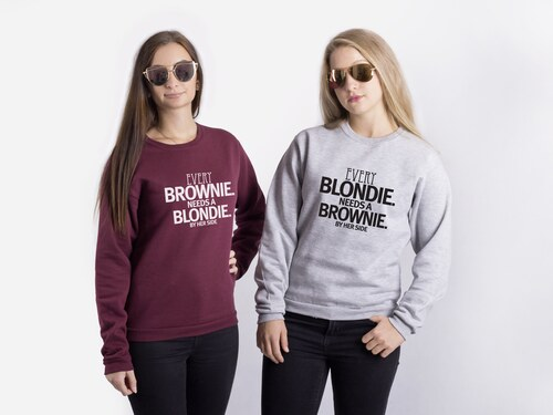 Set dvou mikin Blonde and Brownie - Glami.cz 00956a0c81e