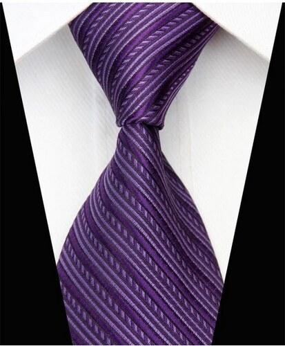 Silk Worm Pánská kravata fialová NT0542 - Glami.sk 87432c21fd