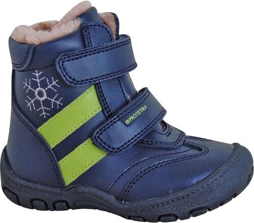 df70f5c1d8911 Protetika Chlapčenské zimné topánky BERGER - modré - Glami.sk