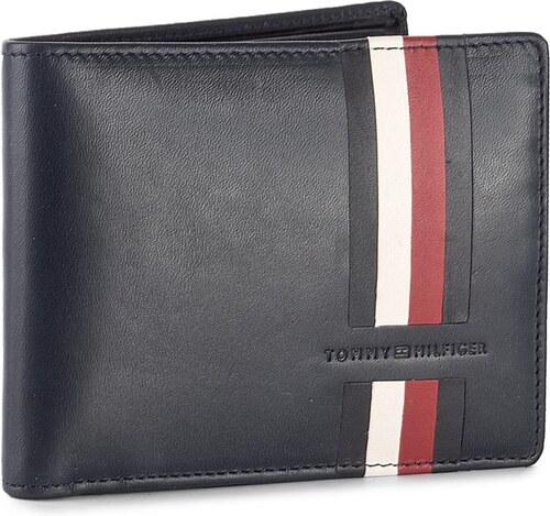 Nagy férfi pénztárca TOMMY HILFIGER - Icons Stripe Cc Flap And Coin Pocket  AM0AM02646 413 9458720a07