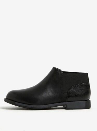 eb782b5373 Čierne dámske kožené nízke chelsea topánky Camper - Glami.sk